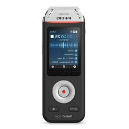 Philips VoiceTracer Audio Voice Recorder for Interviews w/ 2