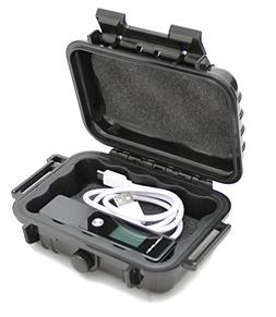 CASEMATIX Waterproof Digital Voice Recorder Case fits Evistr