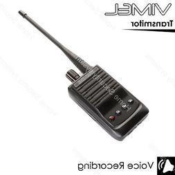 Wireless Voice Recorder Listening Device Remote Radio Transm