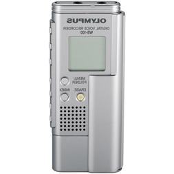 Olympus WS-100 64 MB Digital Voice Recorder with USB Interfa