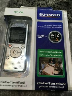Olympus Ws-801 2gb Digital Voice Recorder NEW IN BOX