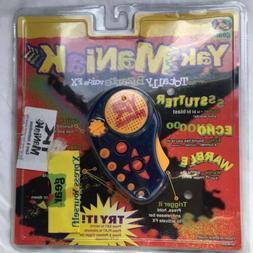 Yak Bak Maniak Maniac Handheld Voice Recorder Toy 1997 Yes!